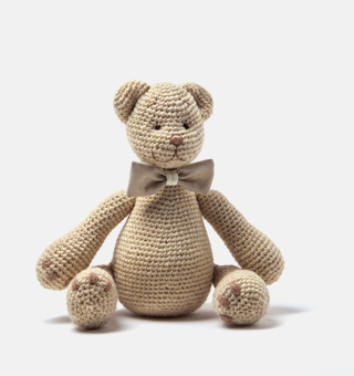Cream(with the little pocket behind the bear' tie ,where is a little note inside) order time 2 weeks