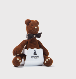 Chocolate(with the little pocket behind the bear' tie ,where is a little note inside) iin 2 weeks